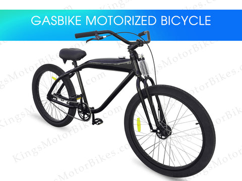 GasBike Motorized Bicycle (DIY, Bike Only)