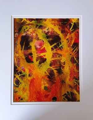 Watercolor Fine Art Light Watercolor Original Abstract Painting