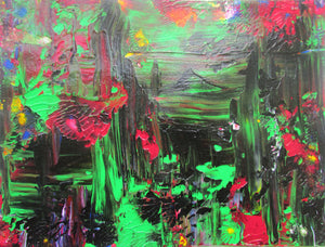 Outer Limits Original Abstract Acrylic Painting