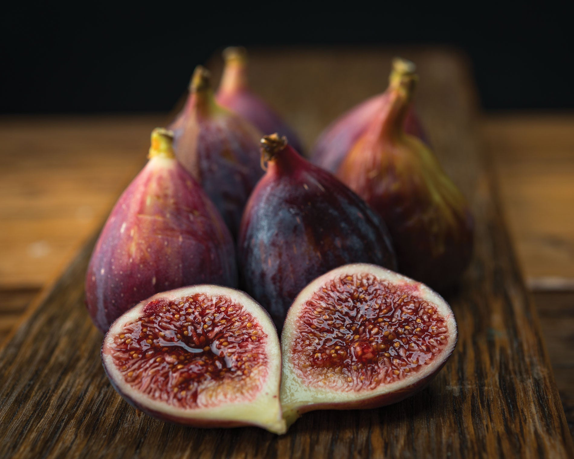 "Art Print 20"" x 16"" Food Photograph ""Figs Still Life"" on Canvas Foam Board Ready to Hang - Nutrition Education Store"