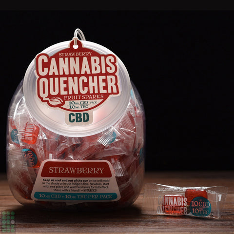 Venice Cookie Co. - Cannabis Quencher Fruit Sparks - CBD - GreenDoorWest.com - 1