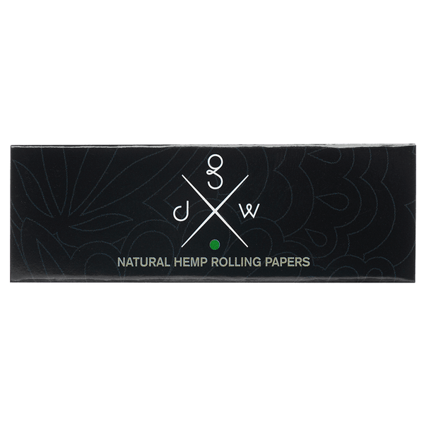 GDW Organic Hemp Rolling Papers +Tips
