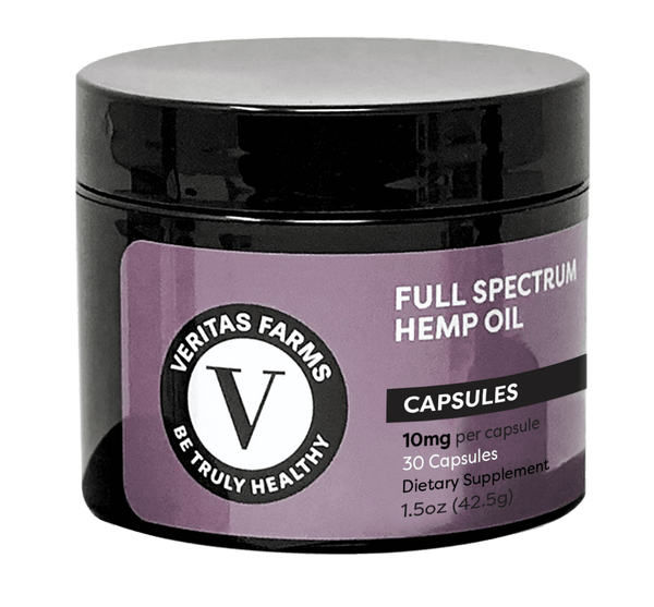 Veritas Full Spectrum CBD Capsules