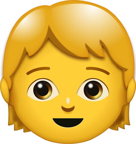 Download Kid Emoji [Iphone IOS Emoji PNG]