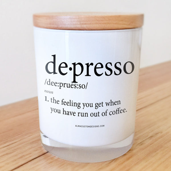 Depresso Candle
