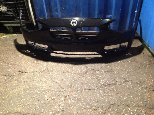 BMW 3 SERIES F30 2015 FRONT BUMPER BLACK COVER 51117272568