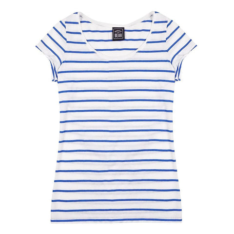 The Henley Red Striped T-Shirt