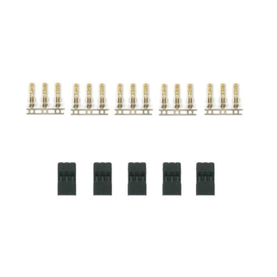 Servo plugs - Male (5)