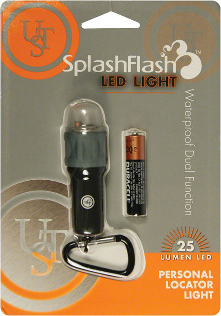 Ultimate Survival Technologies - Ultimate Survival Technologies SplashFlash LED Light: Black - KakiOutdoor.com - 1