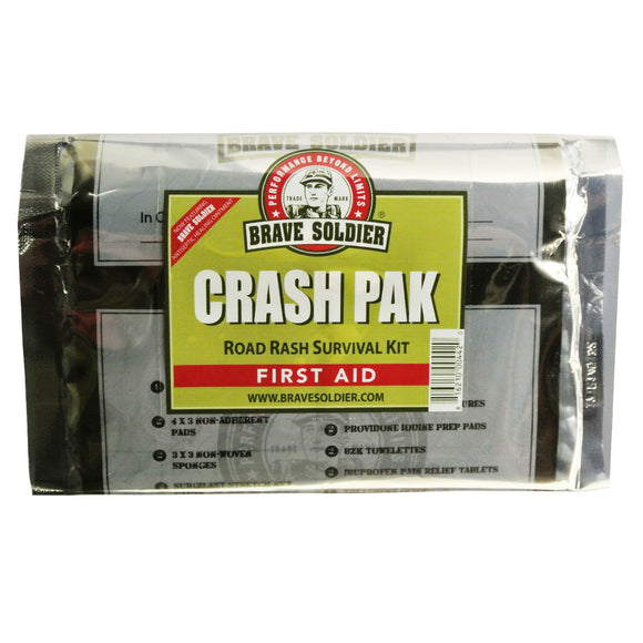 Brave Soldier - Brave Soldier Crash Paks Road Rash First Aid Survival Kit - KakiOutdoor.com