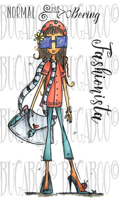 Fashionista Digital Stamp Set [Digi876BG]