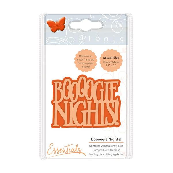 Die Essentials Miniature Moments Boooogie Nights!, 1862E