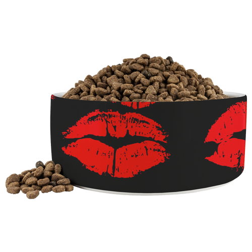 Lips Dog Bowl