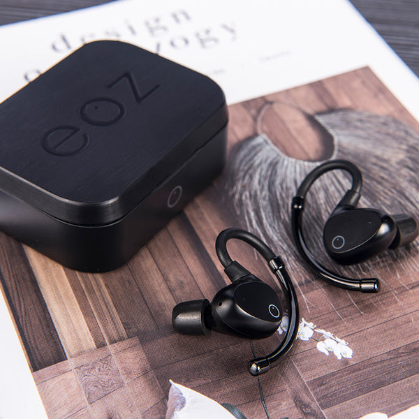 EOZ Air True Wireless Earphones All Black