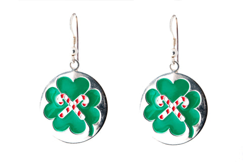 LUCKY GREEN EARRINGS