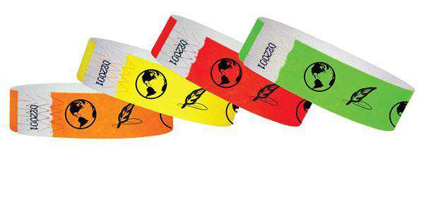 3/4 Tyvek History Museum Wristbands