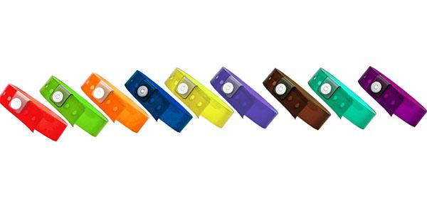 Vinyl Wristbands Translucent Colors