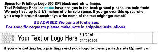 3/4 Tyvek Wristband Design Smile Face SALE - TrendyWristbands
