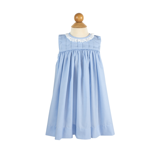 Gathered Ruffle Dress