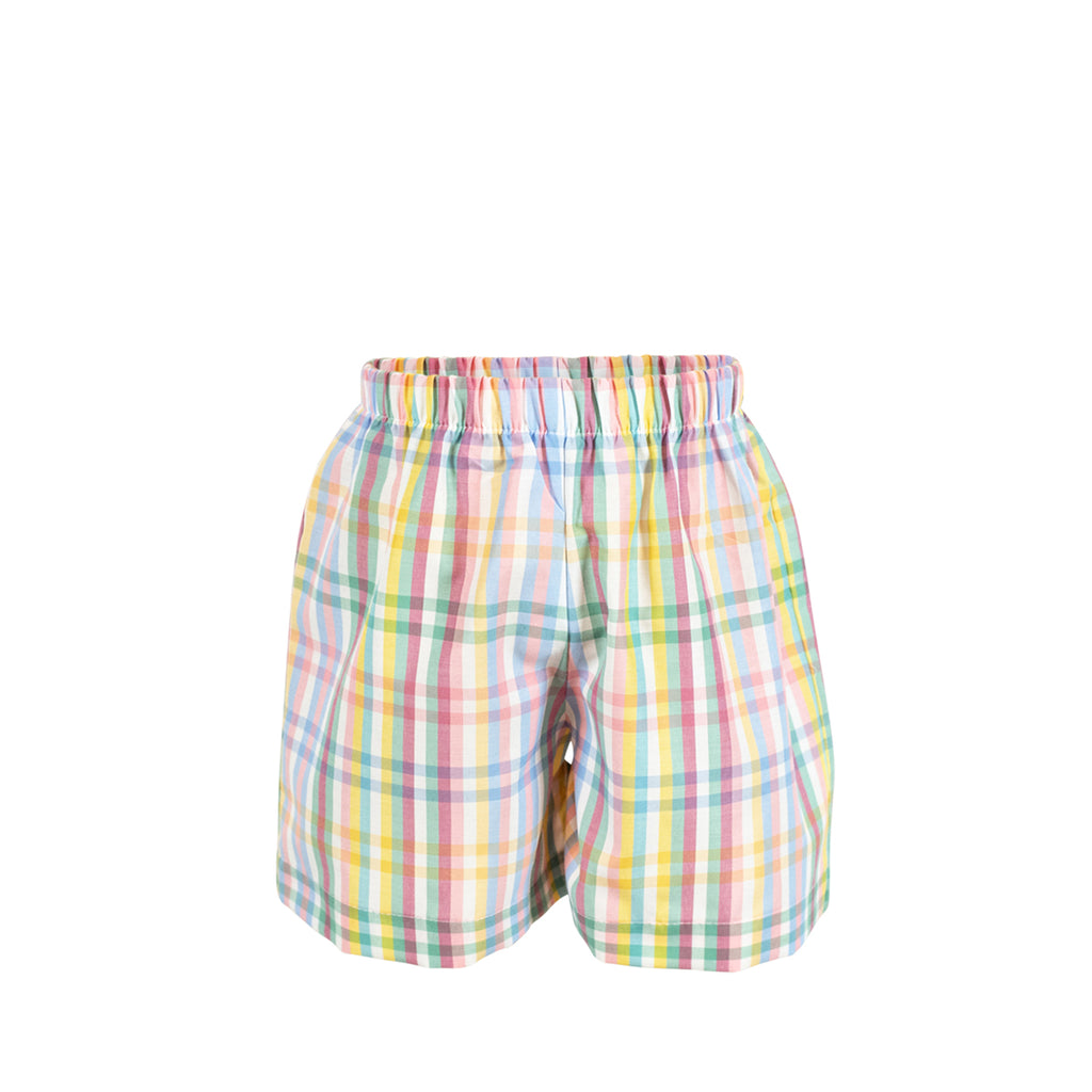 George Short - Pastel Check
