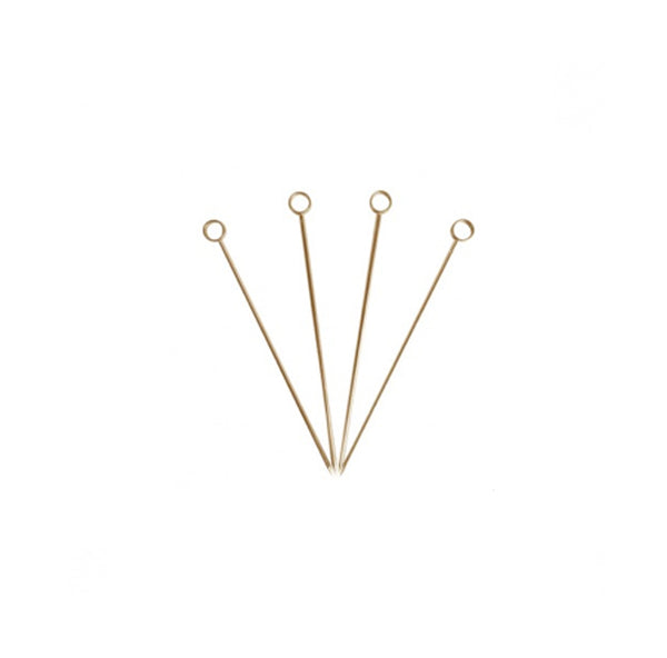 Gold Cocktail Picks