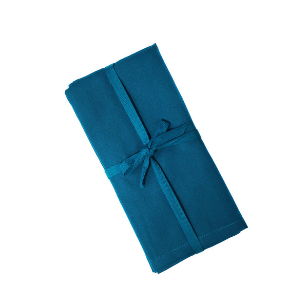 Teal Cloth Napkins-one