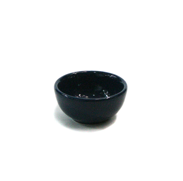 Navy, Ceramic Condiment/Nut Bowl, two ounce