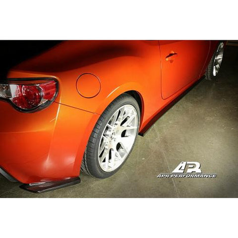 APR CF Rear Bumper Skirts FRS/BRZ 2013+