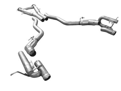 SOLO EXHAUST SRT8 JEEP WK2 2012-2018