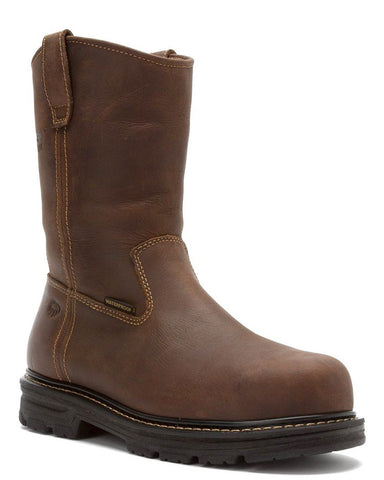 Mens Nolan Composite-Toe Waterproof Pull-On Boots