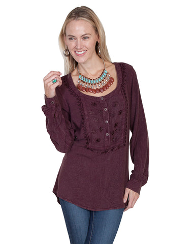 Womens Embroidered Blouse