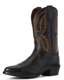 Men's Bar Sour Western Boots - Black