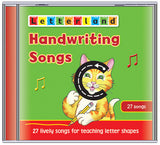 Handwriting Songs - Lowercase (CD)