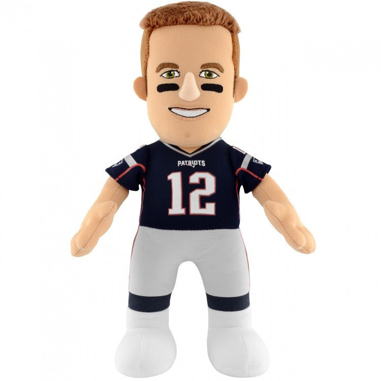 "NEW ENGLAND PATRIOTS® TOM BRADY 10"" PLUSH FIGURE - ToyThug"