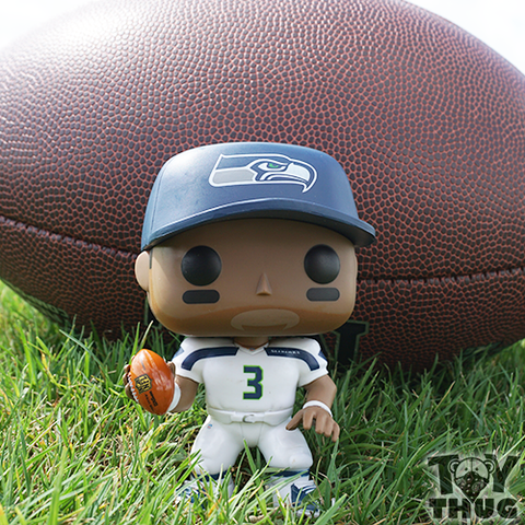 Funko POP NFL Richard Sherman (White / Green)