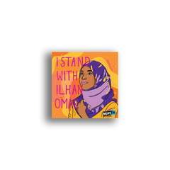 Sticker Packs: I Stand with Ilhan