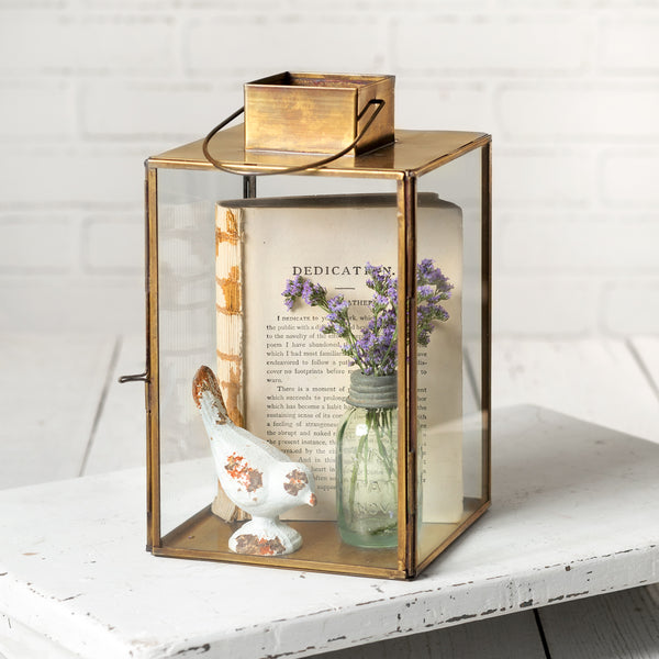 Antique Gold Lantern