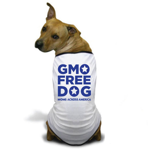 GMO Free Dog Doggie T-Shirt - Moms Across America
