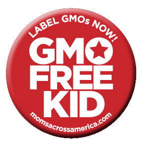 GMO Free Kid Button - 50 Count - Moms Across America