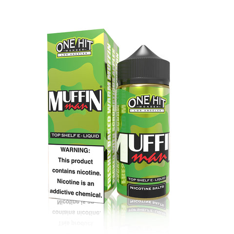 Muffin Man (Salt Nicotine) - One Hit Wonder E Liquid