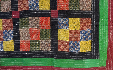 Multicoloured Patchwork Quilt 4