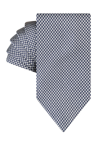 Silver Luxe Houndstooth