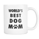 World's Best Dog Mom Mug - Dog Mother Mug