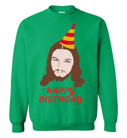 Happy Birthday Jesus - Ugly Christmas Sweater