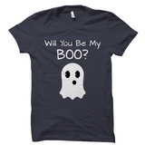 Will You Be My Boo Cute Halloween Shirt