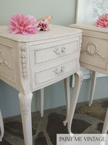 Candyfloss Baroque Bedside set of two - commission not for sale