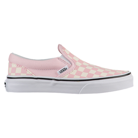 Classic slip on checkerboard - Chalk Pink