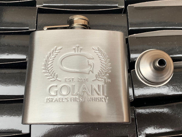 GOLANI HIP FLASK WITH FUNNEL