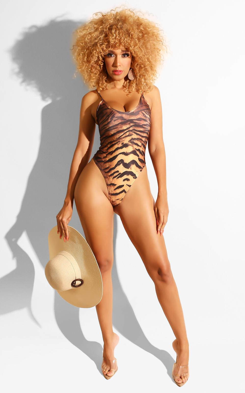 Queen Of The Jungle Monokini