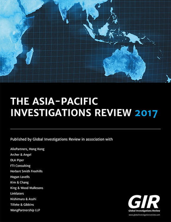 The Asia-Pacific Investigations Review 2017